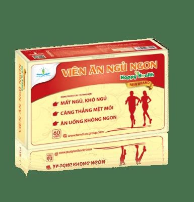 Sản phẩm ăn ngon ngủ ngon Happy Health New Brand