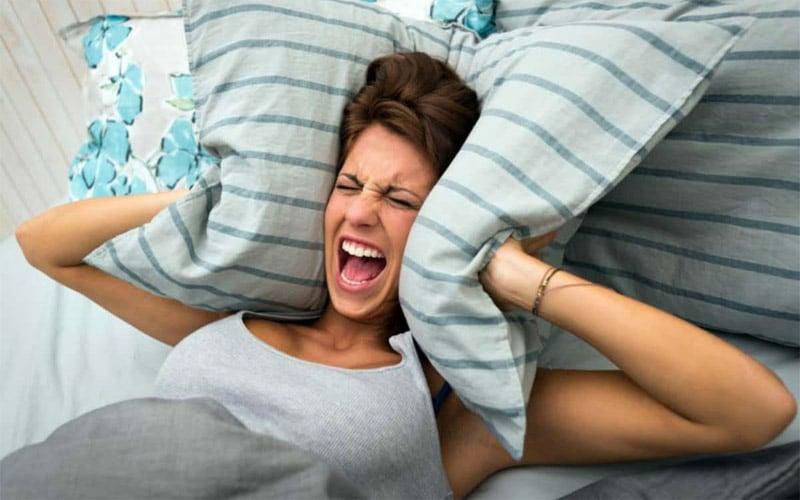 Áp lực và stress khiến bạn khó ngủ vào ban đêm