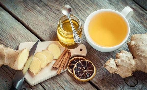 Trà gừng mật ong chữa mất ngủ hiệu quả